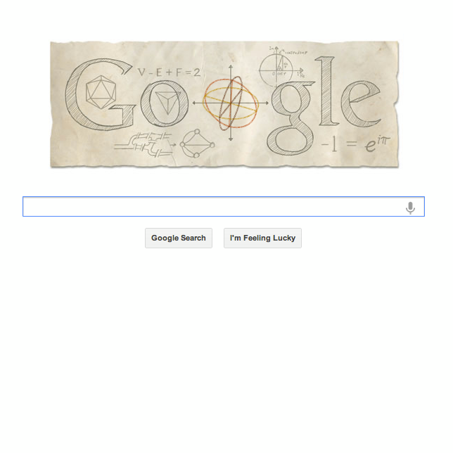 Google's Tribute to Euler Sparks Inspiration in Business Intelligence