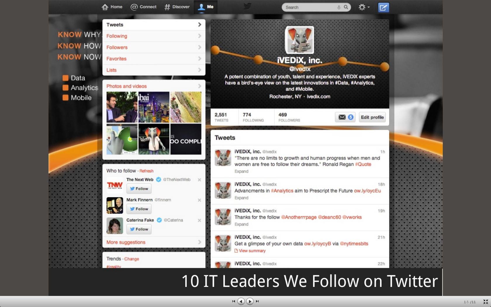 10 IT Leaders We Follow On Twitter