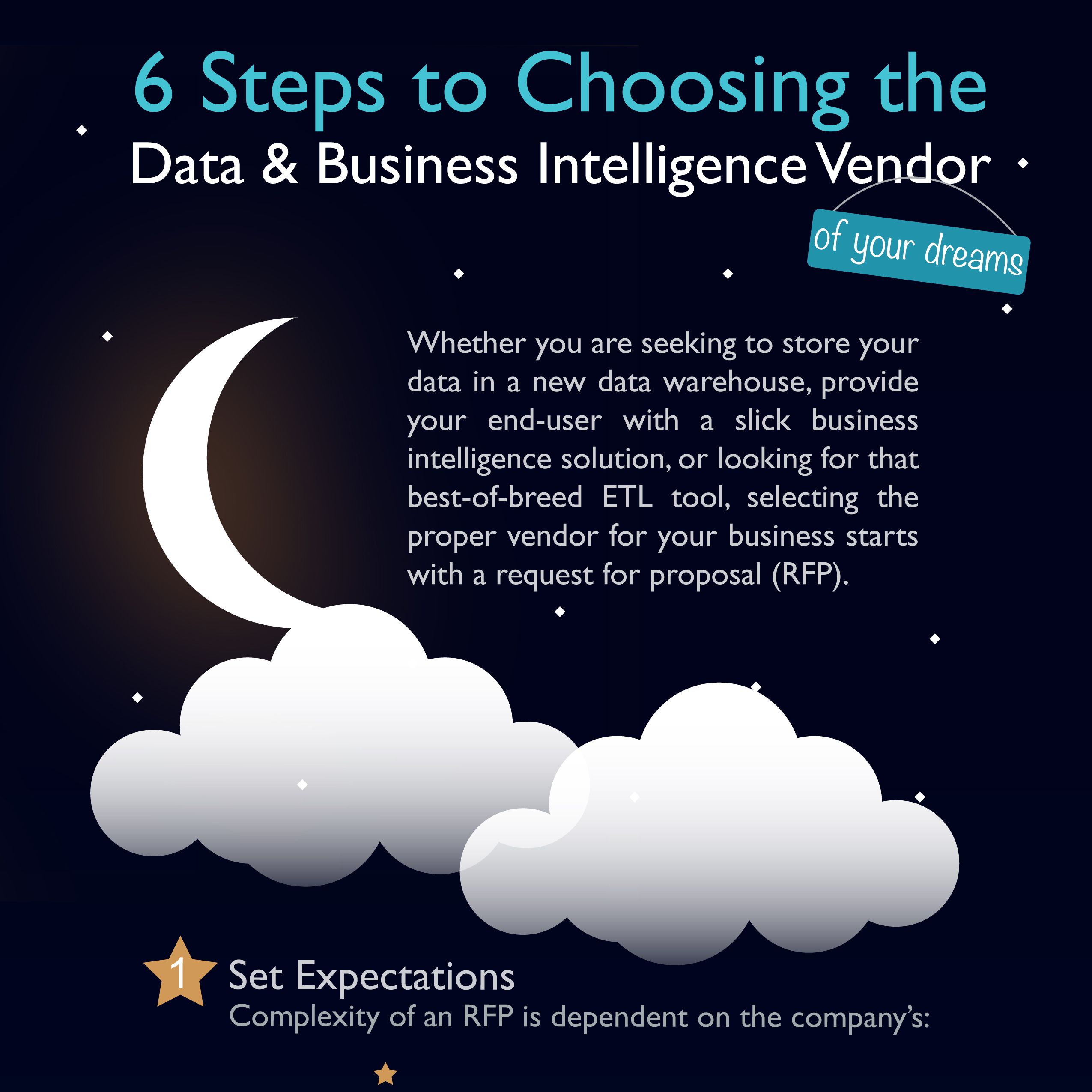 6 Steps to Choosing the Data & Business Intelligence Vendor of Your Dreams