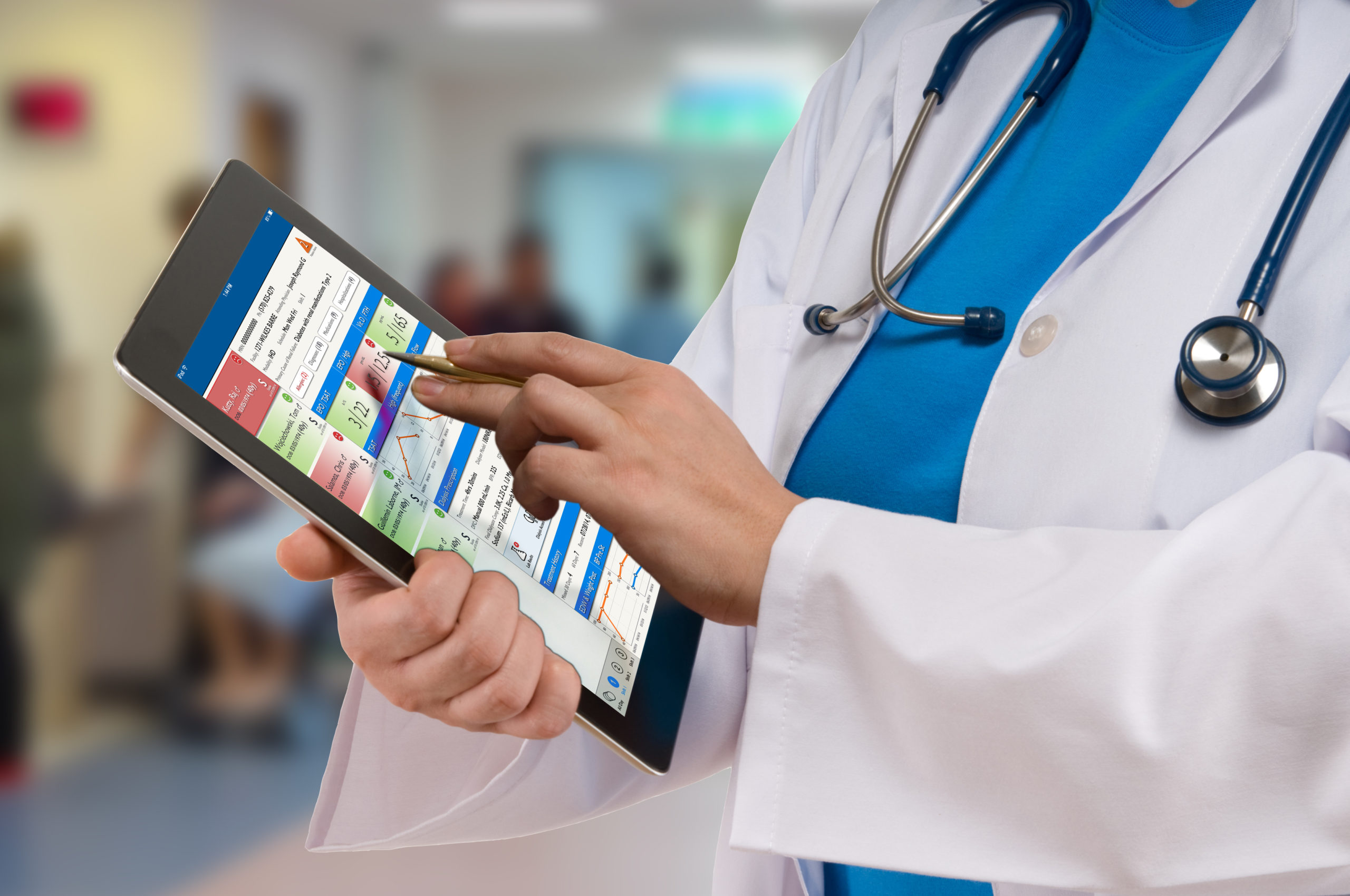 mobile physician rounding
